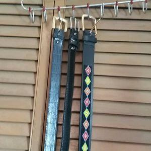 Other - Bundle of 3 belts